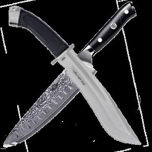 catálogo de Cuchillos de combate, cuchillos de supervivencia, cuchillos de caza y pesca