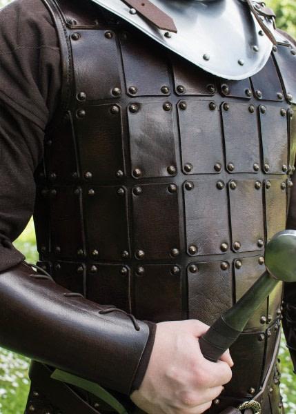 1616652201g lederreustung lederwams gewandung leather armour brigantine brigandine braun 600x600 1