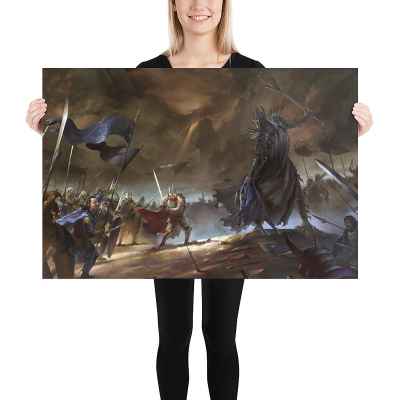 enhanced matte paper poster in 24x36 person 6105d134b8156