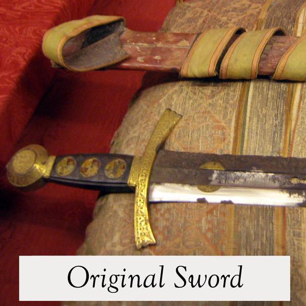 Sword of King Sancho IV. Windlass Steelcrafts. Espada Rey Sancho IV.Marto . Toledo