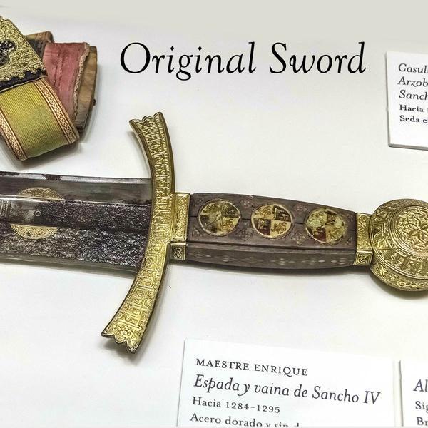 Sword of King Sancho IV. Windlass Steelcrafts. Espada Rey Sancho IV.Marto . Original Sword