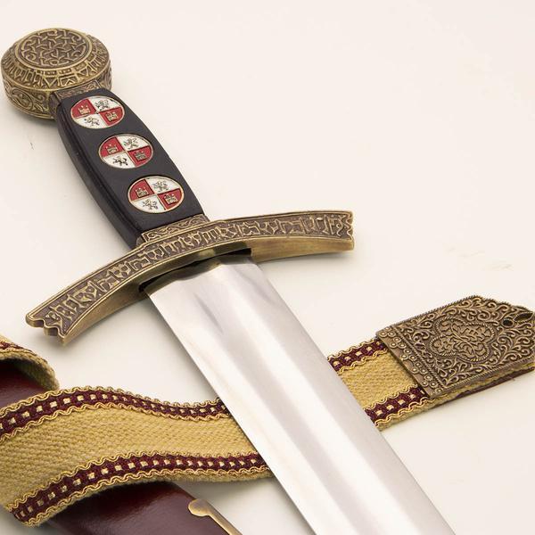 Sword of King Sancho IV. Windlass Steelcrafts. Espada Rey Sancho IV