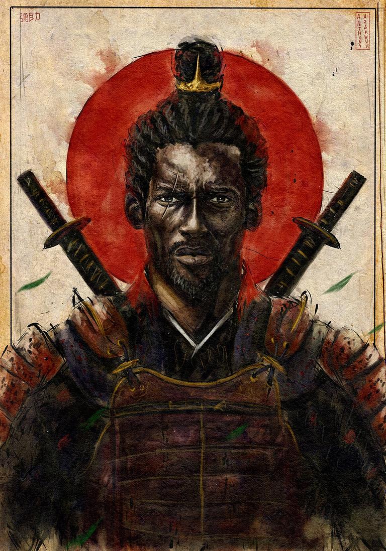 YASUKE, la serie anime de 2021 sobre el legendario Samurái Negro