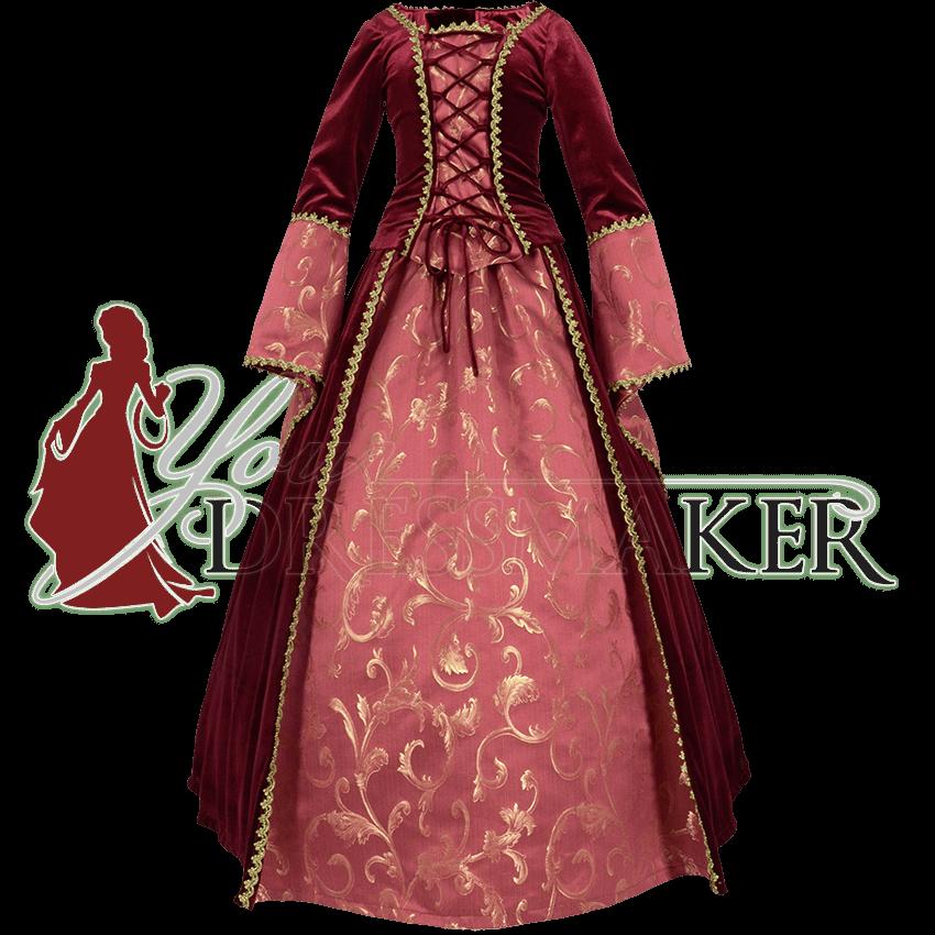 ropa medieval e historica