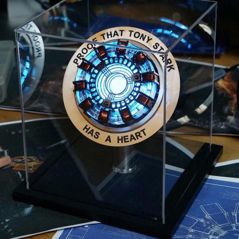 Iron Man Telecontrolled MK1 Reactor LED Tony Stark coraz n luz Mesa decoraci n Cosplay vengadores.jpg Q90.jpg