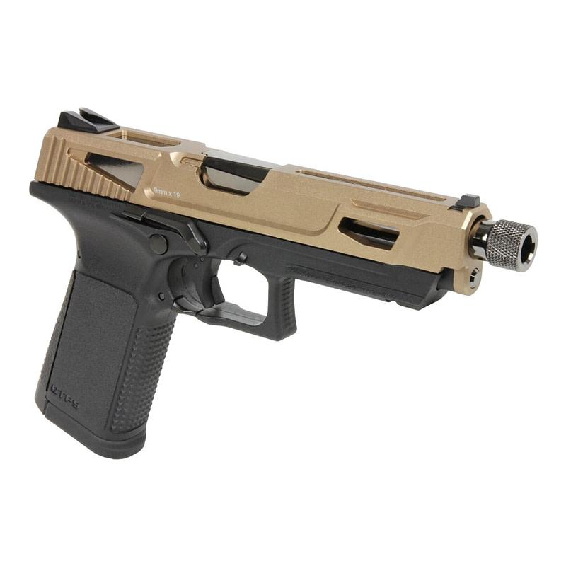 gg pistola a gas gtp9 metal slide desert gg gtp9msdst 2