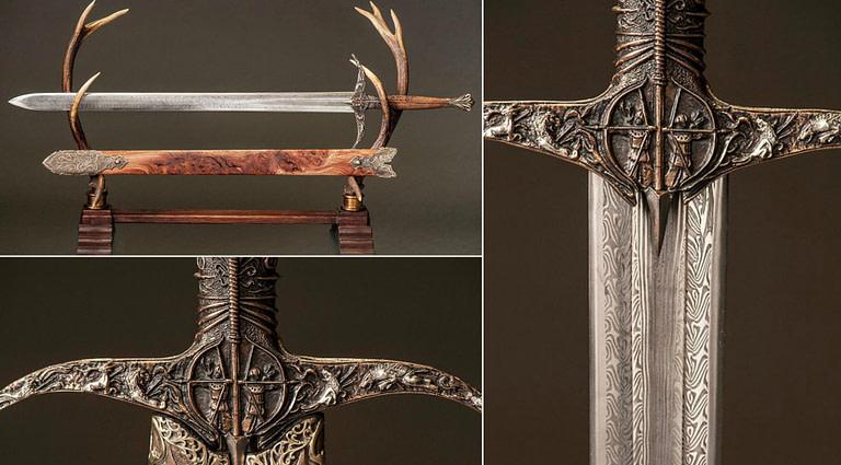 La historia detrás de las espadas en la serie juego de tronos