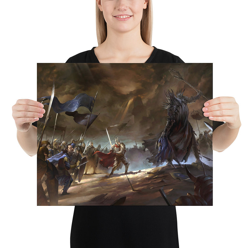 enhanced matte paper poster in 16x20 person 6105d134b8663