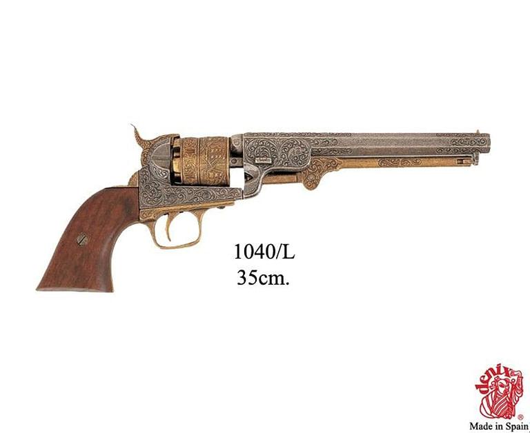 Quién Inventó el Revolver