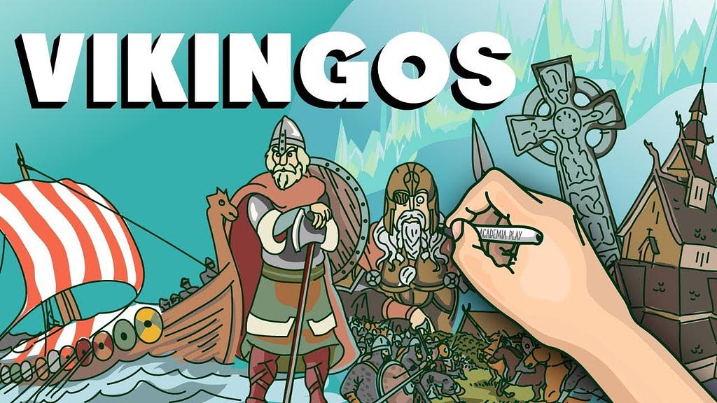 De donde son los vikingos