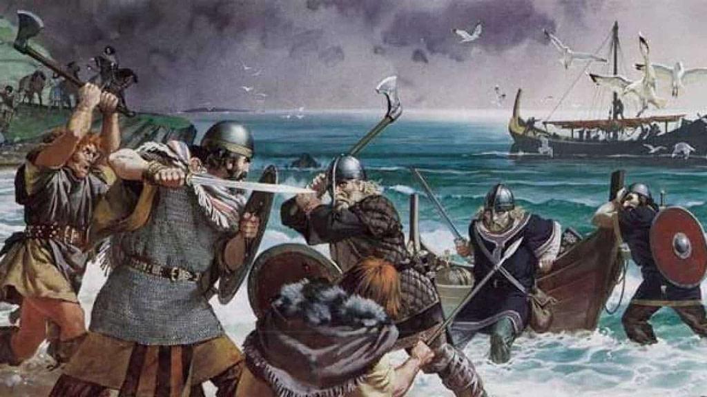 Qué conquistaron los vikingos