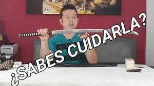 Tutorial completo sobre los cuidados y el mantenimiento de una espada, katana, mantenimiento de los cuchillos y cualquier artículo con filo