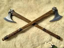 Hachas vikingas, el arma preferida de los guerreros nórdicos