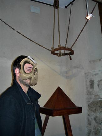 instrumentos de tortura, cuna de Judas