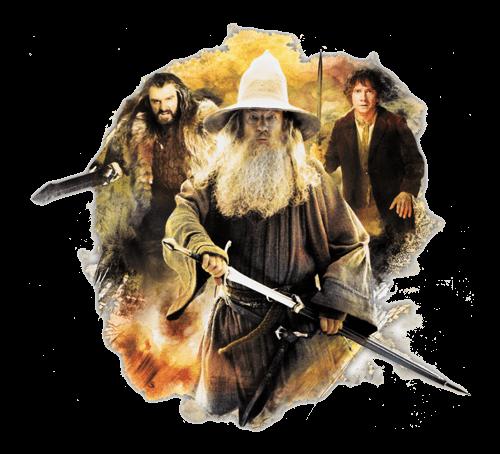 Tienda de El Hobbit con todos los coleccionables de la película
