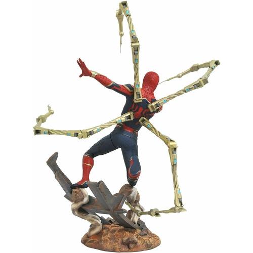 Estatua Iron Spider-Man 30cm Marvel Premiere 30663182165