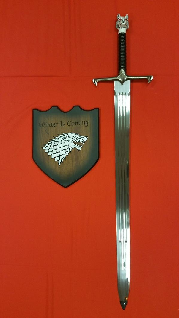 Espada Garra de Jon Nieve con Vaina - Juego de Tronos versión libros 15791