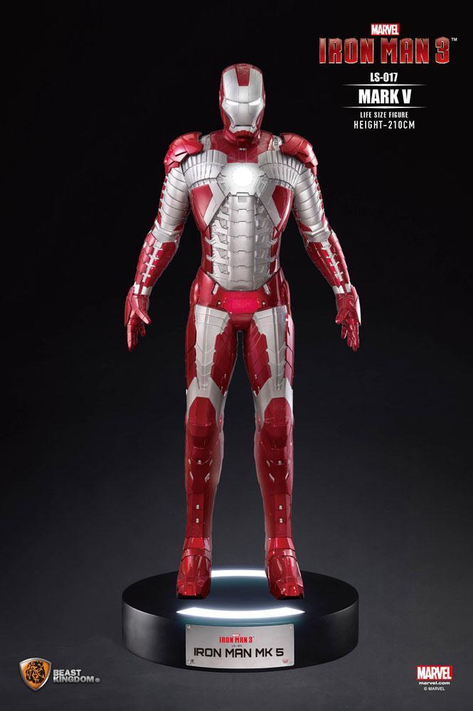 BKDLS-017 Estatua tamaño real Iron Man Mark V