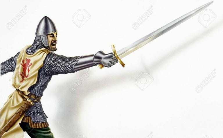 Tipos de espadas en la era medieval