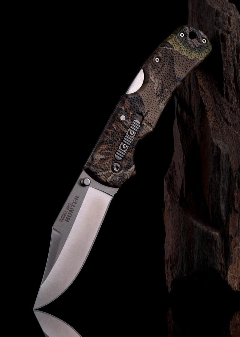 Navaja de bolsillo Double Safe Hunter, camuflaje CST-23JD