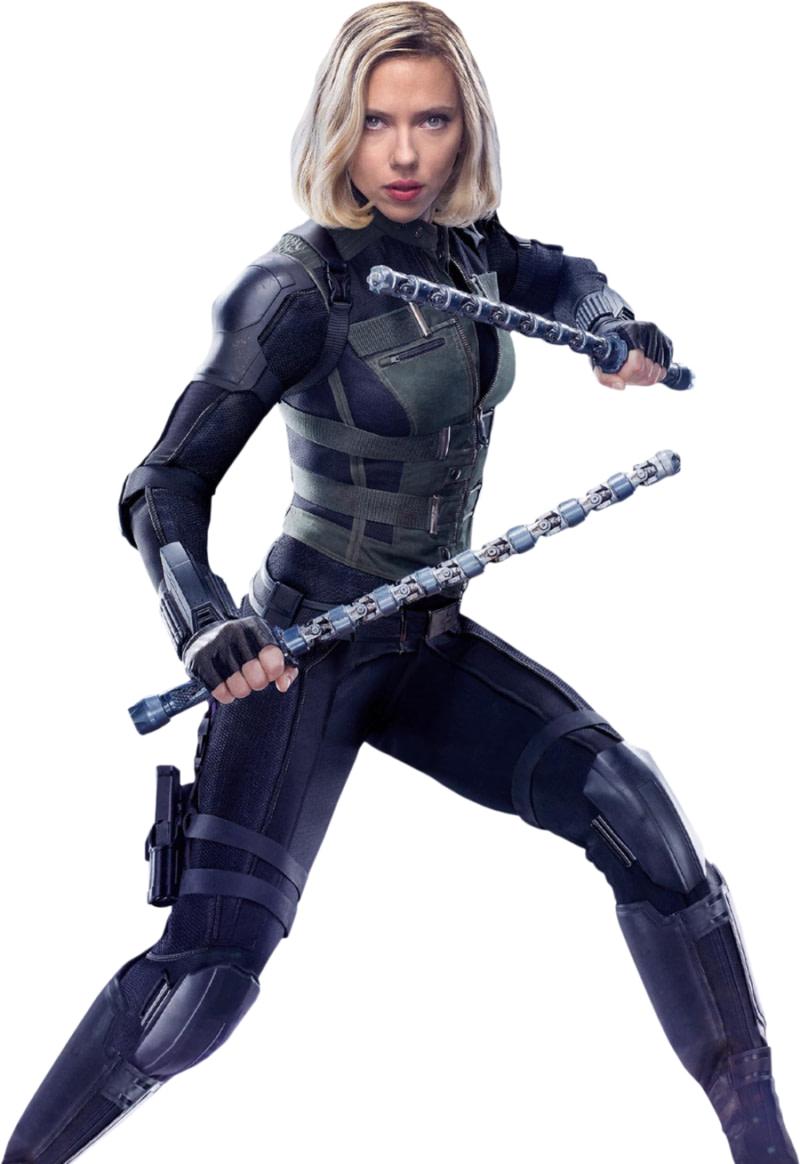 Vara de Black Widow, bastón viuda negra Avengers