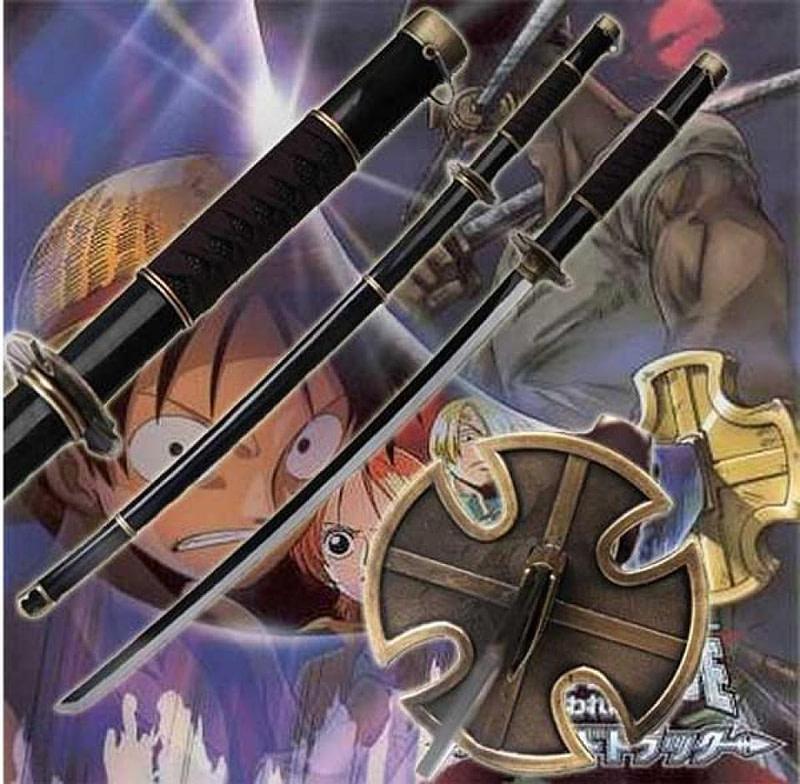 40080 espada katana sandai kitetsu Zoro One Piece