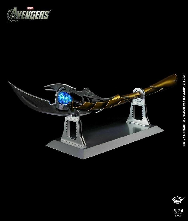 Cetro de Loki Avengers Los vengadores Marvel