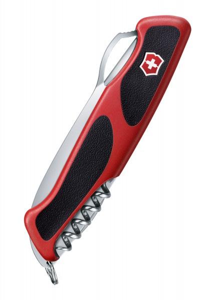 Navaja Multiusos RangerGrip 61, 11 Funciones, rojo / negro Victorinox VI-0.9553.MC