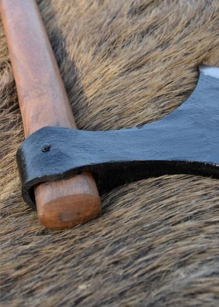 Hacha danesa hecha en acero al carbono 0401042400