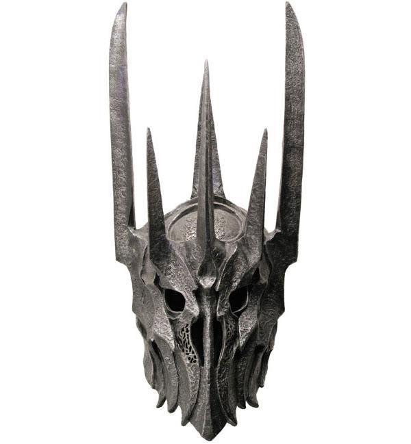 Casco oficial Sauron El Señor de los Anillos