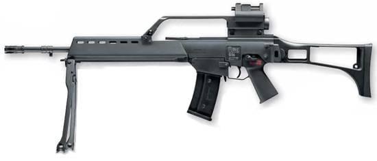 U2.5746X Subfusil asalto H&K G36 Sniper EBB 140 Disp electrica - 6 mm