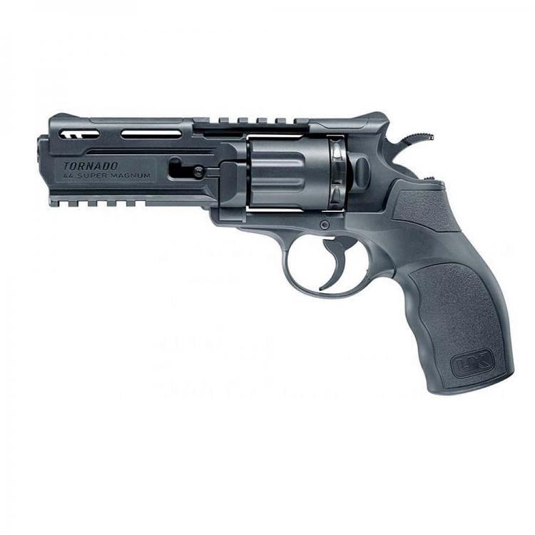 U5.8199 Revolver UX Tornado polímero Co2 - 4,5 mm BBs Acero