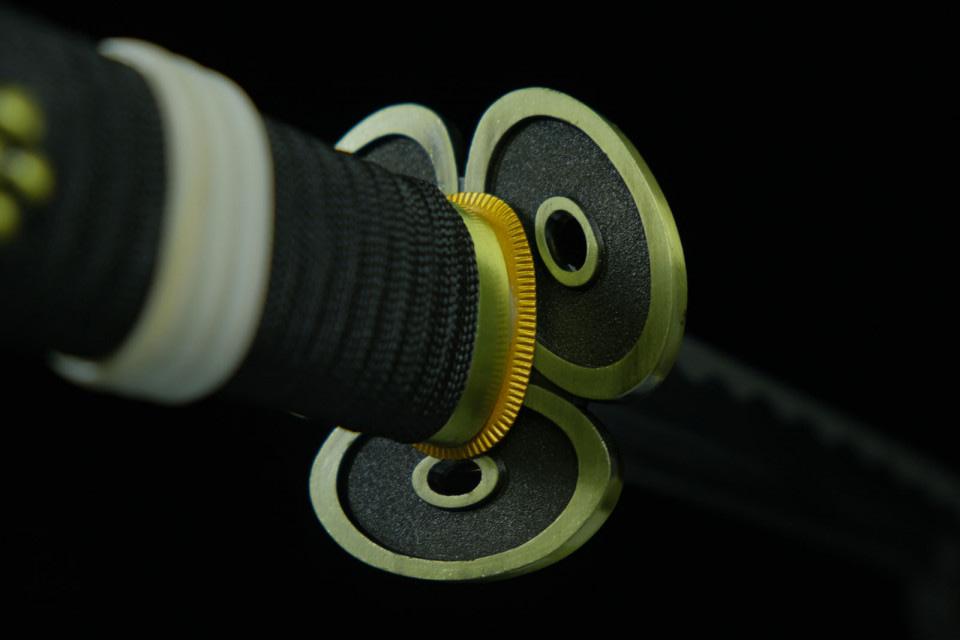 Espada Enma de Zoro Funcional afilada acero de damasco 41701