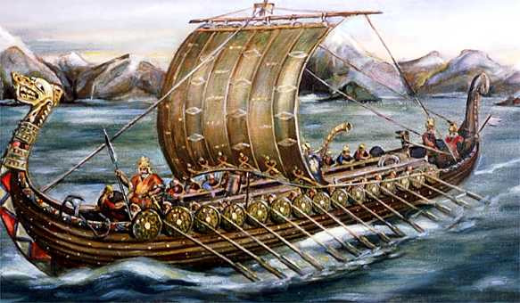 De dónde son los vikingos