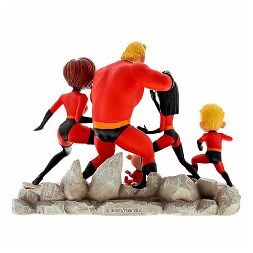 Estatua Familia Los Increíbles 17cm Los Increíbles 3061129295
