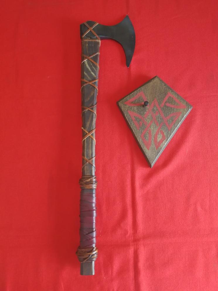 Hacha de Ragnar FABRICACIÓN PROPIA