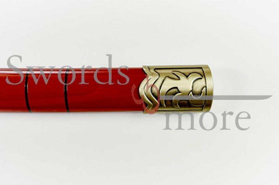 40131 Espada katana sandai kitetsu de Roronoa Zoro One Piece decorativa gama alta