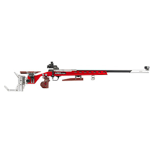 ares fucile sniper 1913 for olympic precision shooting simulation rosso ar pts01