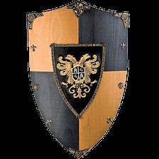 Tienda de escudos medievales