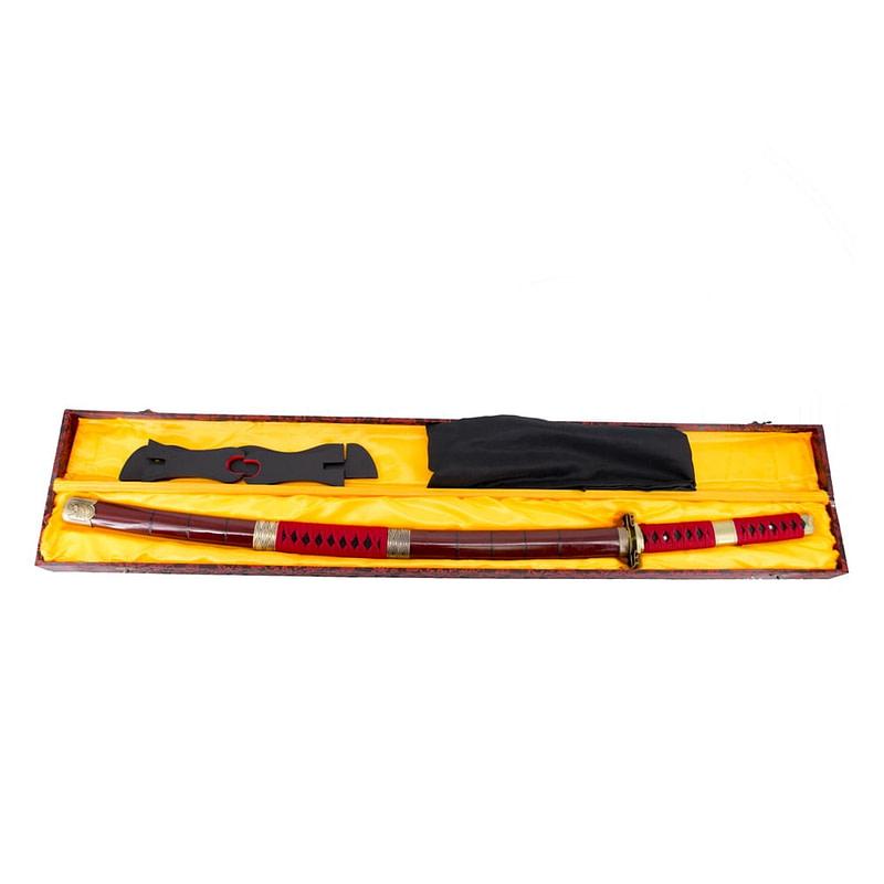 Espada de zoro roja completa