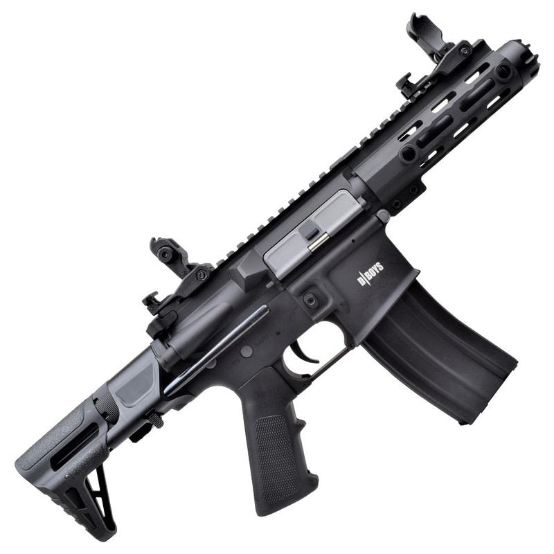dboys electric rifle m4 pdw black 1131 3