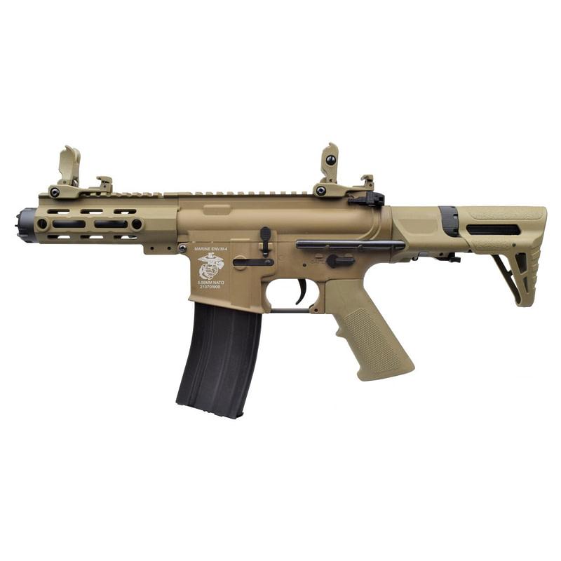 dboys electric rifle m4 pdw dark earth 1131 t 1