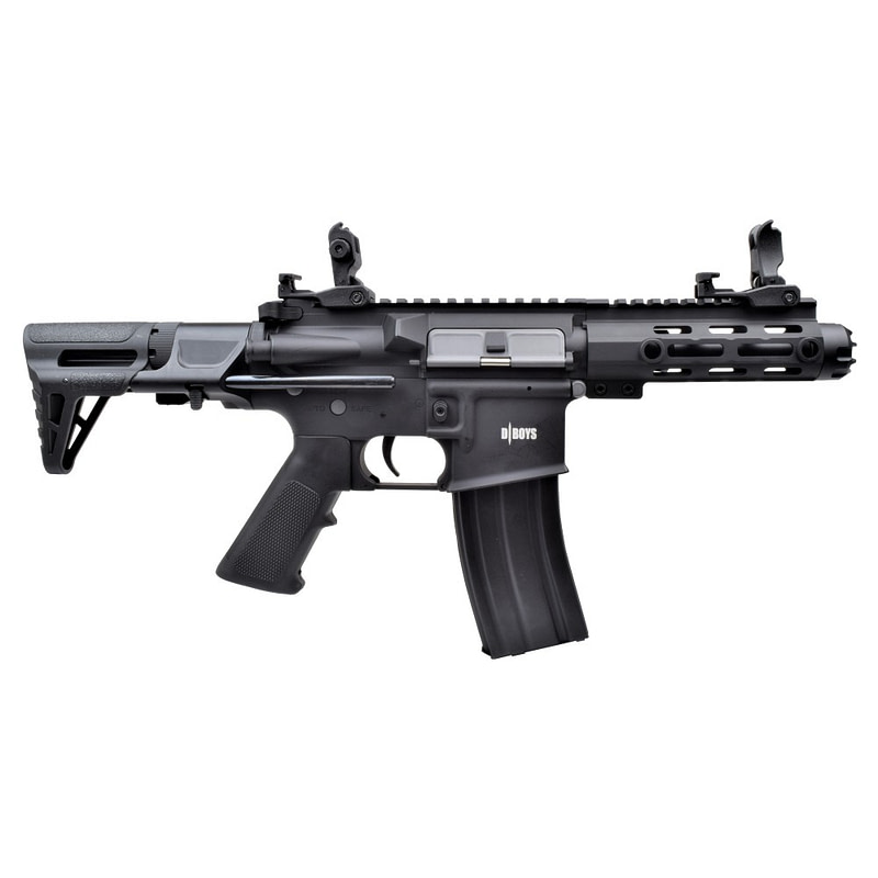 dboys electric rifle m4 pdw black 1131