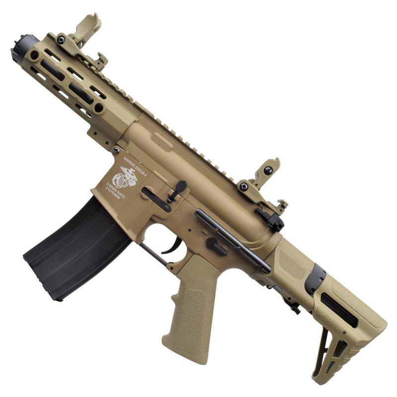 dboys electric rifle m4 pdw dark earth 1131 t 3