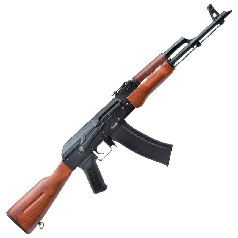 dboys electric rifle ak 74 real wood 4783w 3