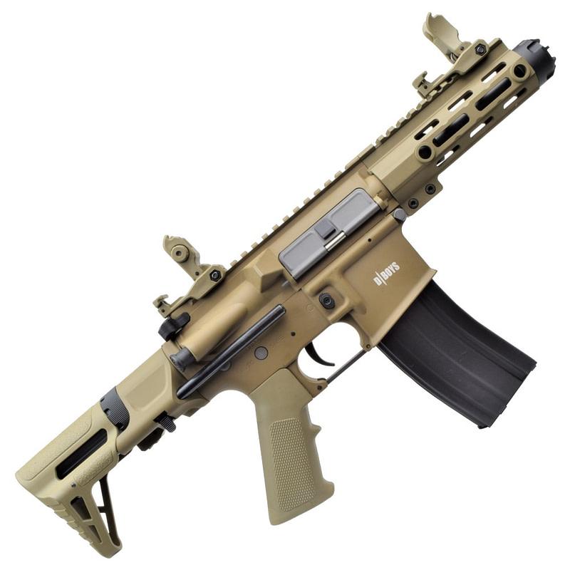 dboys electric rifle m4 pdw dark earth 1131 t 2