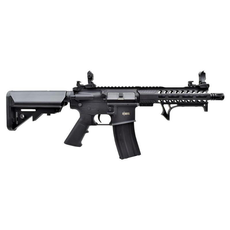 dboys electric rifle m4 8 polymer version black 7301