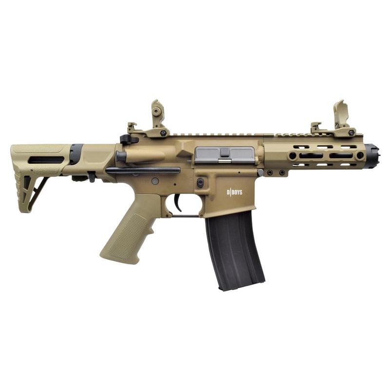 dboys electric rifle m4 pdw dark earth 1131 t