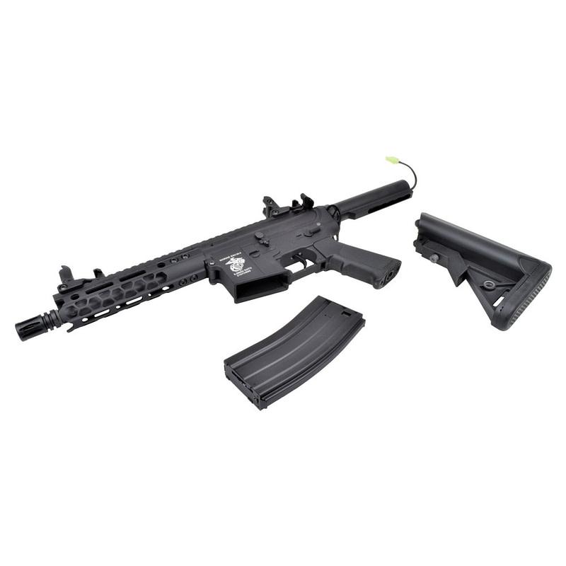 dboys electric rifle m4 7 metal version black 1901m 4