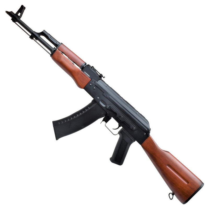 dboys electric rifle ak 74 real wood 4783w 2